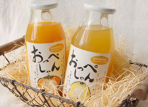 オレンジジュース・オレンジゼリー
